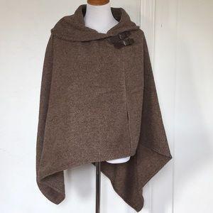 Ralph Lauren wool blanket wrap